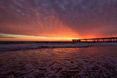 venice colors (sjg310) Tags: sunset clouds landscape nature venice beach la losangeles california pacific