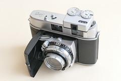 Kodak Retina II C (Type029) Rangefinder mit Voigtländer VC II (rainer.marx) Tags: köln cologne kodak retina analog film lumix fz1000 panasonic leica rangefinder