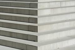 Steps (Jan van der Wolf) Tags: map161310v treden steps monochrome monochroom abstract composition compositie symmetric symmetry symmetrie dissymmetry lines playoflines interplayoflines lijnenspel lijnen shadow schaduw