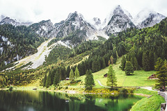 Gosausee <3 (www.juliadavilalampe.com) Tags: austria myhome home happyplace happyme mountains green verde trees lake gosausee gosau sterreich