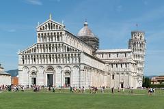 Pisa - Kathedrale und Campanile (CocoChantre) Tags: campanile kathedrale piazzadeimiracoli pisa schieferturmvonpisa toscana italien it