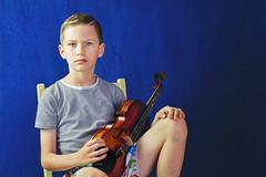 Boy & Viola #2 (goodgirlbetty) Tags: boy viola strings instrument band portrait matte canon 2470mm