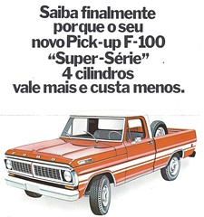 Ford F-100 for Brazil (Hugo-90) Tags: ford f100 superserie 2300 pinto ads advertising brochure catalog