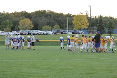 1456 (bubbaonthenet) Tags: 09292016 game stma community 4th grade youth football team 2 5 education tackle 4 blue vs 3 gold