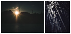 last rays (miemo) Tags: abstract autumn clouds diptych em5mkii europe fall finland helsinki metal olympus omd roofs sea shadows silhouette sky skyline sun sunlight sunrays sunset voigtlnder voigtlndernokton425mmf095 wood