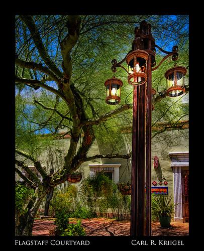 Flagstaff Courtyard