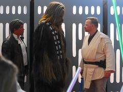 B6754 * Star Wars night (sabre11richard) Tags: chewie chewbacca han solo jedi knight minor league baseball international herd