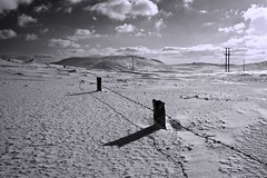 Some like it Hoth (Richard Browne...) Tags: uk ireland winter shadow sky sun mountains clouds fence easter newcastle march starwars spring unitedkingdom down pole hills barbedwire electricity northernireland poles pylons kilkeel mourne hoth ulster hilltown countydown codown apical mourned