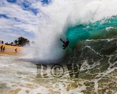 going to be a rough landing (R.C.W. Photography) Tags: ocean morning beach water canon hawaii surf waves oahu surfing bodyboarding sandybeach shorebreak bigwave sigma1020 2013 splwaterhousing