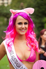 Miss Australia International (loobyloo55) Tags: pink portrait woman girl female sydney australia mardigras missaustraliainternational