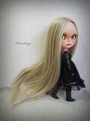 Frecle 11 (Poonchaya) Tags: blythe freckles customblythe eyechips poonchaya