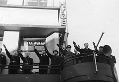 Vidkun Quisling in Drontheim. 1941/11/14-15. (Riksarkivet (National Archives of Norway)) Tags: ns worldwarii trondheim 1941 secondworldwar trøndelag quisling krigen vidkunquisling drontheim andreverdenskrig olavtryggvasonsgate astoriahotell lysholmgården okkupasjonstiden frederikprytz hotellastoria schløssermøller