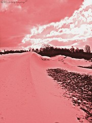 #ATouchOfPink (Wishtography) Tags: pink snow nature snowdrift vivid snowdunes atouchofpink capturedmoment streamzoo thiscooledit crazytouchofpink
