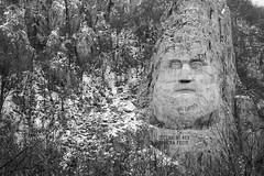 Decebal Dacia (PM Kelly) Tags: road sculpture art river serbia route romania danube dacia decebal outstandingforeignphotographersvisitingromania