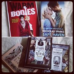เป็นงานหนังสือที่ฟินมาก ได้ WarmBodies ตอนเหลือ 8 เล่มสุดท้าย กรีดร้อง ขอบคุณ AsiaBook ที่ยังเหลือหนังสือให้หนู & ประวัติศาสตร์เล่มหนาๆ อีก 3 คลั่งจากที่เรียน ประวัติศาสตร์ ม.6 #bookfair#thailand#warmbodies#last#sale#safehaven#isaacmarion#nicholassparks#r