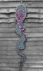 www.damonwhitestudios.com (damonwhite) Tags: art wall one se mirror dragon recycled unique off hanging tg