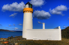 CAIRNRYAN LIGHTHOUSE, LOCH RYAN, CAIRN POINT, CAIRNRYAN, WIGTOWNSHIRE, SCOTLAND. (ZACERIN) Tags: pictures colour and the in alan digitalcameraclub nikon pictures point blue hdr of blue stevenson uk selective colour loch lighthouse lighthouse lighthousetrek scotland hdr dumfries galloway ryan cairn lighthouses lighthouses d800 zacerin cairnryan cairnryan wigtownshire 1964 1847