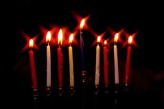 9 Candles Shine (Ben Unleashed!) Tags: israel candles shine 9 2012 hanukkah hanukkiah haradar pentaxkr