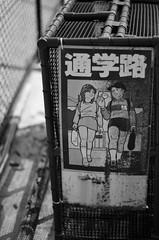 Spazierweg (timotical) Tags: blackandwhite bw japan digital 50mm nikon focus f14 manual nikkor schwarzundweiss spazierweg d7000