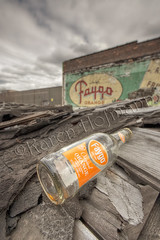 Drink Faygo Orange (chevymom0) Tags: city sky urban weather architecture clouds canon rebel graffiti spring grafitti michigan detroit wideangle landmark unusual rubble ghostsign urbex faygo 2013 xti madeinmichigan rebelxti