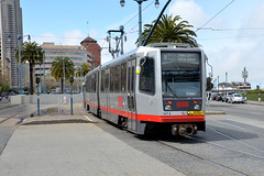 Muni 1477 [San Francisco tram] (Howard_Pulling) Tags: sf sanfrancisco california ca photo nikon picture tram april breda trams strassenbahn lrv 2013 hpulling howardpulling d5100
