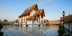 Wat Suthat Thepphawararam (image.aey.me) Tags: architecture thailand temple bangkok buddhism wat suthat