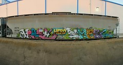 Hero Crew (Sk8hamburger) Tags: railroad art train painting graffiti paint tag rr hero boxcar graff piece tagging rodents freight hells paint spray hellsrodents herocrew