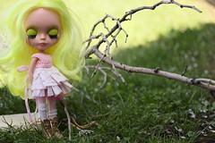 Zabrina Zadora ... enjoying the great outdoors ...