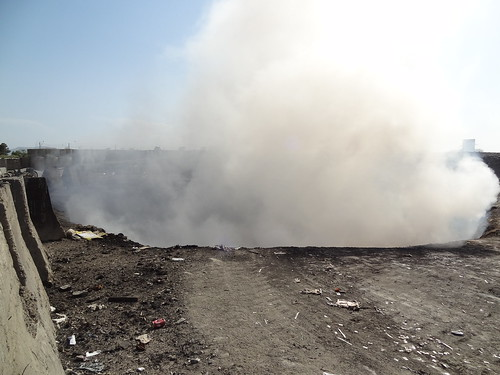 Emissions from FOB Salerno Open-Air Burn Pit