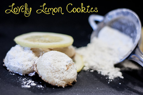 lovely lemon cookies