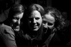 Girls in shadows (catfordCelt) Tags: birthday party england rachael london unitedkingdom becky sarahw catford 40thbirthday jennys40th rachaels40th catfordbridgetavern