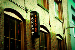 Market Theatre (tphets) Tags: seattle wall gum washington alley downtown place post theatre market streetphotography pike