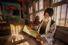 Guiding the Gurdwara [Explored 29th Arpril, 2013!] (Wameq R) Tags: gurdwara hdr hdrefex photomatix photography photoshop canon 7d 1022mm india alley allahabad patna
