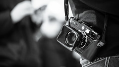 M9, cameraporn (Giulio Magnifico) Tags: camera leica blackwhite 169 m9 cameraporn udine nikond800 palazzocontemporaneo nikkormicro105mmafsvrf28