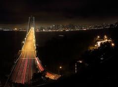 sanfrancisco night cityscape baybridge... (Photo: Flick'gAbility on Flickr)
