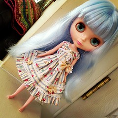 First dress for my factory Blythe.