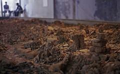 Black gold (Bijou Lou) Tags: india black colour art film archaeology 35mm pepper gold pentax k1000 exhibition pottery guards biennale kochi fortcochin