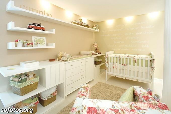 quartos de bebês modernos