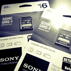 You can never have enough memory... (MisledYouth74) Tags: sony sd memory memorycard sdcard 16gb sdhc uploaded:by=flickstagram instagram:photo=441630817226690865202252659