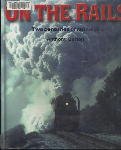 "cover ""On the Rails"". Anthony Burton. John Coyle scan"