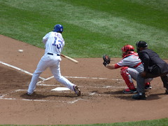Cubs vs Reds (spablab) Tags: chicago sports cincinnati castro cubs wrigley batting reds fieldhouse mlb majorleaguebaseball