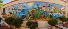 Historical mural pano (Sergio Garcia Rill) Tags: panorama history mexico town mural pano pueblo panoramic bajacalifornia historical baja 2012 bcs todossantos pueblomagico