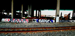 roar grief damsel (_unfun) Tags: graffiti oakland bayarea roar grief cbs dtc damsel oaklandgraffiti bayareagraffiti joogs