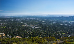 View From Echo Mountain (Jeremy Thomas Photography) Tags: from 2 two portrait sky mountain 3 beautiful digital 35mm canon lens landscape eos prime losangeles los high amazing exposure pretty raw cityscape dof view angle angeles bokeh hiking 5 f14 quality gorgeous awesome echo wide wideangle hike sharp full trail frame definition l fixed hd usm pasadena dslr 35 incredible ef breathtaking def lightroom fov echomountain 5dmarkiii fijizzle viewfromechomountain