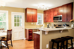 Crixus Construction (Russ Evans Photo) Tags: home kitchen arlington construction interior remodel