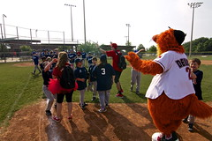 The Miracle League (Frisco RoughRiders) Tags: miracle mascots deuce league frisco roughriders