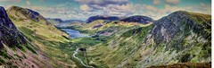 The Buttermere Valley (Paul Thickitt) Tags: travel sky lake mountains colour water clouds landscape view hiking cove top lakes lakedistrict cliffs hills haystacks wainwright valley cumbria summit crags cloudscape hilltop crummockwater buttermere hillwalking grasmoor crag fleetwithpike highcrag buttermerevalley hillwalks
