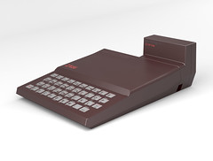 ZX81 &16k RAM PACK - rendered by Paul Beattie June 2013 from the pencil sketch of 'how it should have been'. (Rick Dickinson) Tags: sinclair zx81 zx81rampack