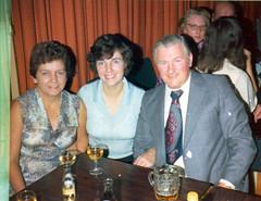 Image titled Chrissie Barlow. Jean Hart, Alex Barlow 1970s