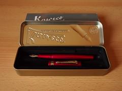 Kaweco Allrounder Red Fine Nib - Open Box